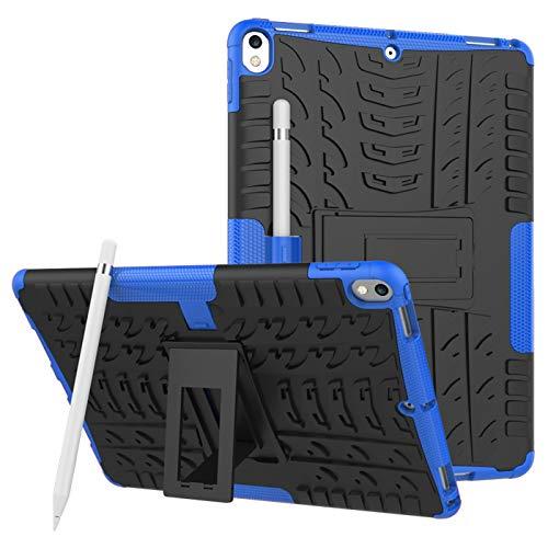 voor iPad Pro 12.9 Tablet Hoesje Case Case, Heavy Duty Shock Absorption Armor TPU/PC Hybrid Impact Schokbestendige Defender Beschermhoezen iPad Pro 12.9 2e Generatie (scherm 12.9 Inch), for iPad Pro 12.9 2th, 5 stuks.