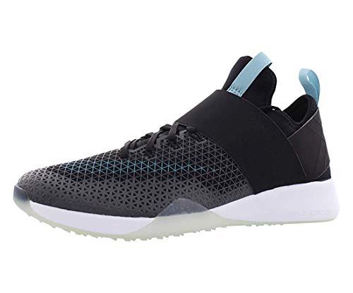 Zapatillas para correr de mujer Nike Air Zoom Strong, (Black/Mica Blue/White), 6 B(M) US
