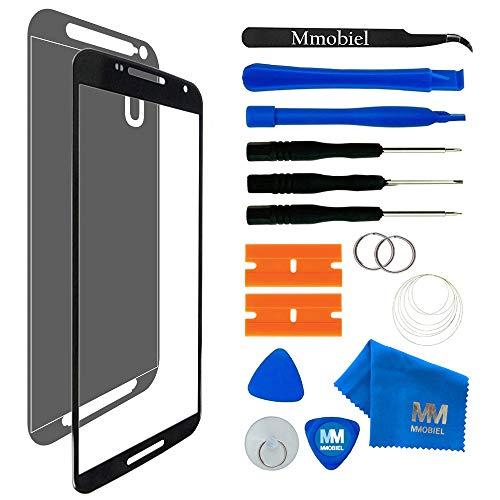 MMOBIEL Kit de Reemplazo de Pantalla Táctil Compatible con Motorola Nexus 6 XT1100 XT1103 (Negro) Incl. Kit Herramientas