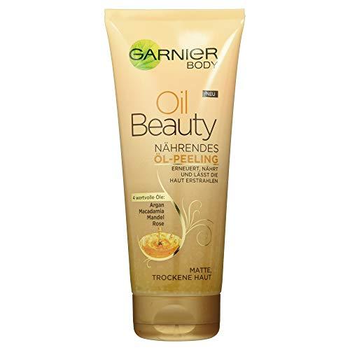 Garnier Peeling Corpo Oil Beauty, 1 Pezzo (1x200 ml) [Versione tedesca]