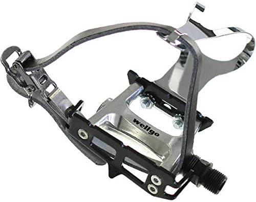 Details about  /Wellgo Bicycle Pedal Toe Clip Straps Set 470mm Black