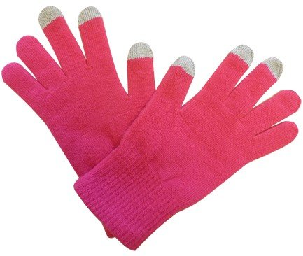 Guanti touch screen Pink