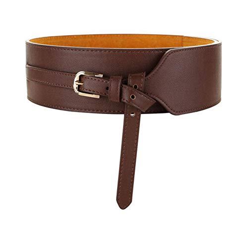 Oyccen Mujeres Cinturones Anchos de Cuero Sintético Pretina de Vestidos Cinturón Ajustable Corsé de Señoras