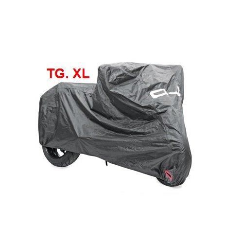 Compatibel met BMW K 1100 LT SE afdekzeil voor motor, scooter, waterbestendig, afdekhoes OJ M026, maat XL 246X104X127 cm COVER voor motor, scooter, maxiscooter, universeel zwart