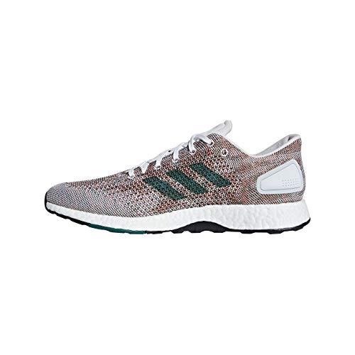adidas Pureboost DPR, Zapatillas de Entrenamiento para Hombre, Blanco (Ftwwht/Ftwwht/Nobgrn Ftwwht/Ftwwht/Nobgrn), 44 EU
