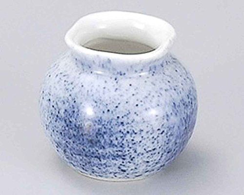 Sumi Blue Blow 2.2inch Toothpick holder White porcelain Made in Japan