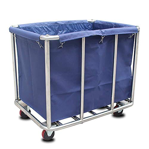 BLWX LY- Industrieel Rollinnen met wielen, Heavy Duty Utility-linnen voor thuis ziekenhuis schoonheidssalon, 100 kg laden