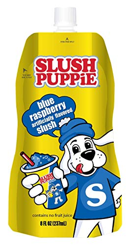 Icee Slush Puppie Pouches, Blue Rasberry, 8 fl. oz., 24 Piece