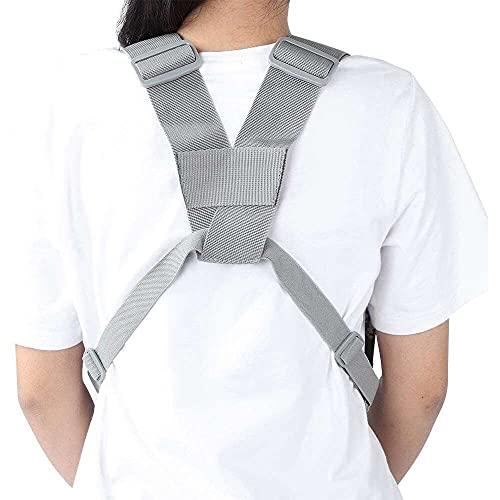qinjun Arnés de pecho, chaleco de camuflaje con correa ajustable para el hombro para acampar para mujeres para hombres para senderismo para UV-5R/UV-82/BF-888S/GT-3