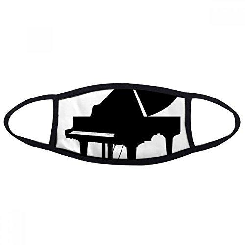 DIYthinker Piano Klassiek Muziek Instrument Patroon Mond Gezicht Anti-stof Masker Anti Koud Warm Wasbaar Katoen Gift