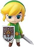 Mover Anime Figura La Leyenda de Zelda Link The Wind Waker Ver Q Versión Nendoocer Figura de acción ...