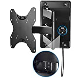 Mount-It! Lockable RV TV Wall Mount with Quick Release, Full Motion Flat Screen...