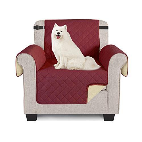 TAOCOCO Sofabezug, wasserdicht, Sofaüberwurf für Sofas und Sofas 1 posti 56 * 190cm Borgogna