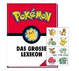Buchspielbox Pokémon – El gran Lexikon (tapa dura) + tatuaje de Pokémon
