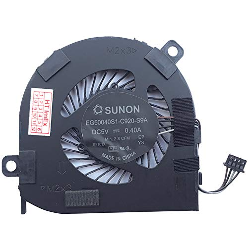 Fan Cooler Compatible with Dell Latitude 12 (7280-K8X0T), 12 (7280-KHY0C)