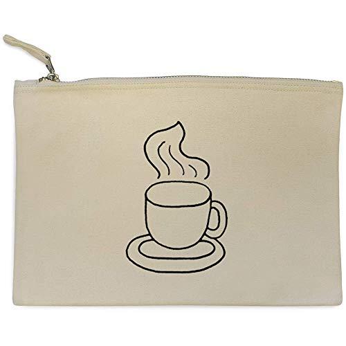Azeeda 'Dampfender Kaffee' Clutch / Makeup-Fall (CL00009523)