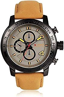 Curren Casual Watch For Men Analog Leather - 8190BGRA