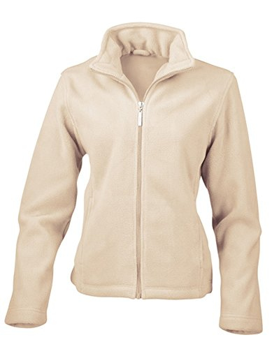 Result Damen-Microfleece-Jacke Re85f Medium elfenbeinfarben