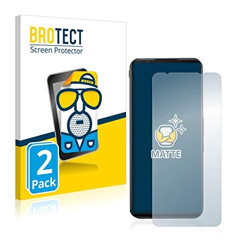 BROTECT 2X Entspiegelungs-Schutzfolie kompatibel mit ZTE Nubia Red Magic 5G Bildschirmschutz-Folie Matt, Anti-Reflex, Anti-Fingerprint