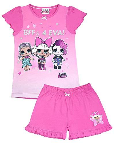 LOL Sorpresa! Feroz Cortos de Las Muchachas Pijamas Rosados