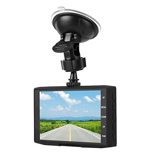 Dash Cam 1080P HD DVR Autorijdende recorder 4,0 inch LCD-scherm 120 ° groothoek, drieweg DVR-recorder met parkeerbewaking Ondersteunende lusvideo die u kunt bekijken
