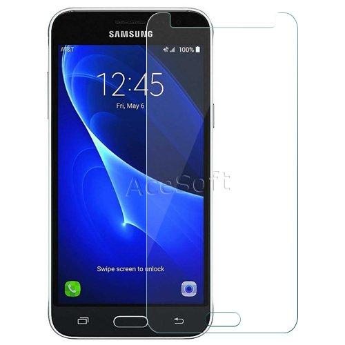 [Samsung Galaxy J36V Screen Protector] Premium 9H HD Clear Anti-Scratch Anti-Bubble Tempered Glass Screen Protector Film for Verizon Samsung Galaxy J36V SM-J320V Smartphone