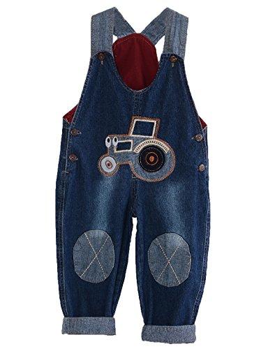 GGBaby@ Latzhose Kinder Baby Jungen Mädchen Jeanshose Latzhosen Jeans Hosen Baby Kinder Overall 100