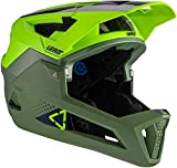Leatt Casque MTB 4.0 Enduro Casco de Bici, Unisex Adulto, Verde Fluor, Small