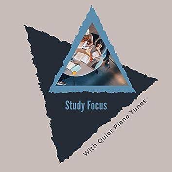 Study Focus With Quiet Piano Tunes