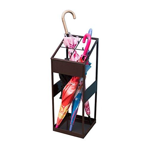 Porte-parapluies Parapluie Stand à la Maison Parapluie Stand Hall de l'hôtel Parapluie Stockage étagère Fer Seau Parapluie à la Verticale