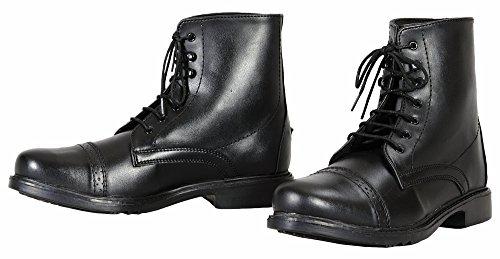 JPC Equestrian - Sporting Goods TuffRider Kinder Paddock Boots, Schnürschuh 12 schwarz - schwarz