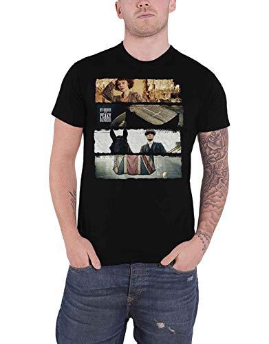 Peaky Blinders T Shirt Slices TV Show Logo Nuevo Oficial De Los Hombres