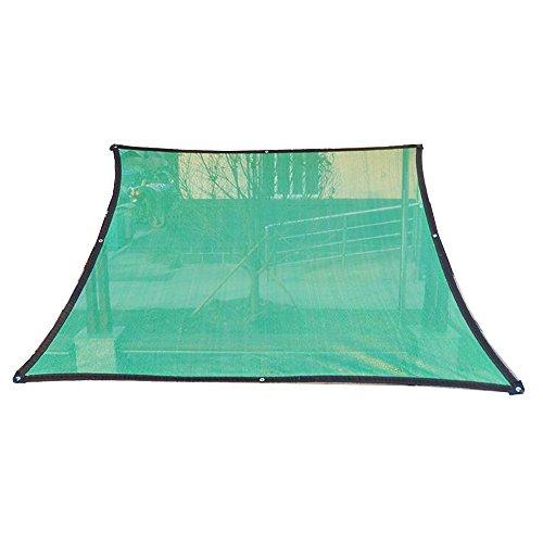 Sunblock 95% Toile d'ombrage Cryptage Balcon Plantes succulentes Abat-jour Protection solaire Isolation respirante Taille facultative (Couleur : Green, taille : 2x1m)