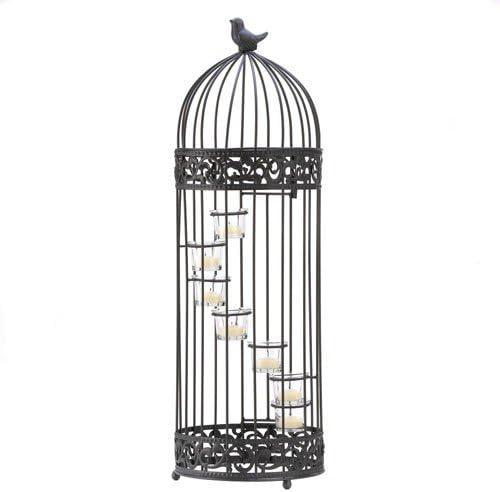 Malibu Creations Surprise price Spiraling Candleholder 5% OFF Birdcage