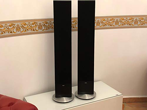 Loewe Individual Stand Speaker Lautsprecher Elektrostaten SL Alu Black