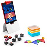 Osmo - Genius Starter Kit for Fire Tablet + Reflector Adapter for Fire HD 8 - 10th Generation Bundle (Required for Horizontal Positioning)