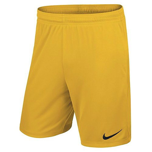 Nike Yth Park II Knit Short Nb, Pantalón Corto, Niños, Amarillo (University Gold/Black), L
