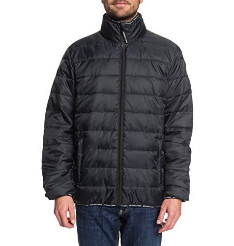 DC Shoes Tintern-Lightweight Water-Resistant Puffer Jacket para Hombre, Black, XL