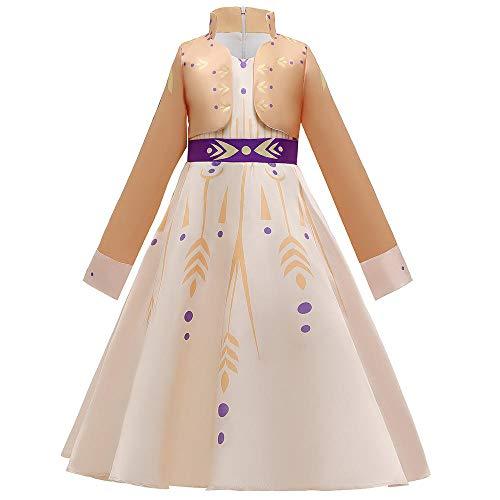 Romon Girls Princesa Vestido Fiesta de cumpleaños Banquete Vestido Infantil Halloween Navidad Disfraz Cosplay