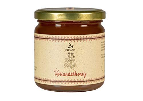 Korianderhonig (500 g) I aromatisch, flüssig, naturbelassen I Von Familien-Imkereien aus den Karpaten
