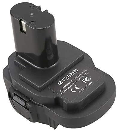 Convertidor adaptador de batería Ecarke para herramientas eléctricas inalámbricas Makita 18V Ni.