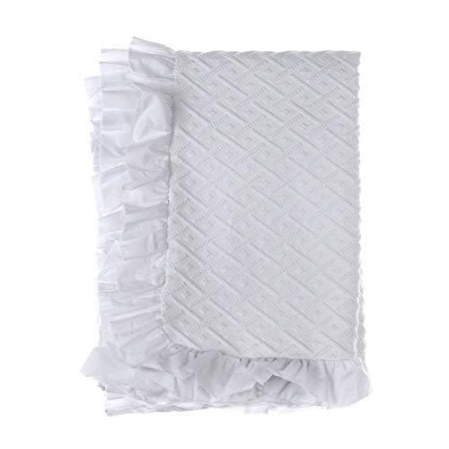 Blanc Mariclo Colcha de matrimonio Geometric Romance blanca 260 x 260 cm a2835099bi