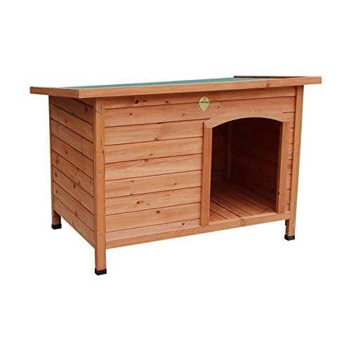 Hundehütte Nobleza, Holzgestell, Höhe 70,5cm Kostenloser Versand