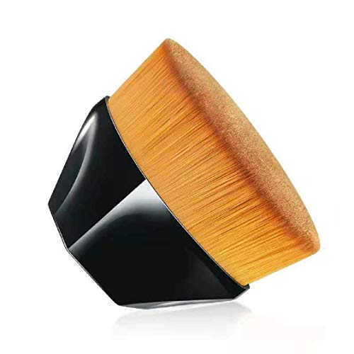 Haibuy Pinceau de fond de teint multifonctionnel,pinceaux maquillage haute densité pour produits de maquillage en poudre liquides, crèmes ou sans défaut pour un résultat rapide et.