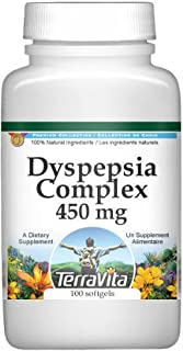 Dyspepsia Complex - Peppermint and Caraway - 450 mg (100 Capsules, ZIN: 517180)