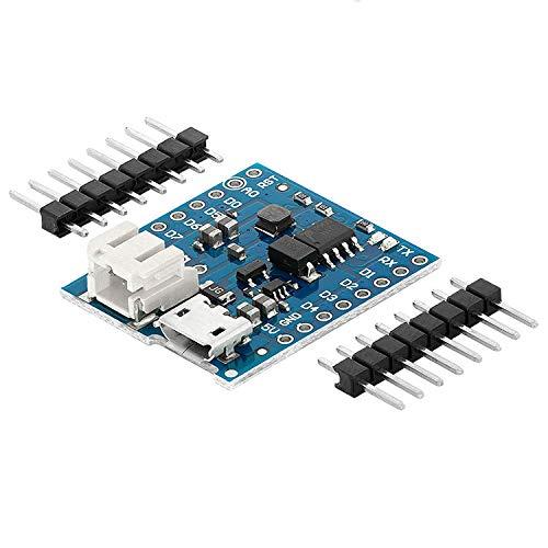 AZDelivery Batterie Shield für Lithium Batterien für D1 Mini kompatibel mit Arduino inklusive E-Book!