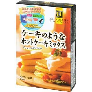 昭和産業『ケーキのようなホットケーキミックス』