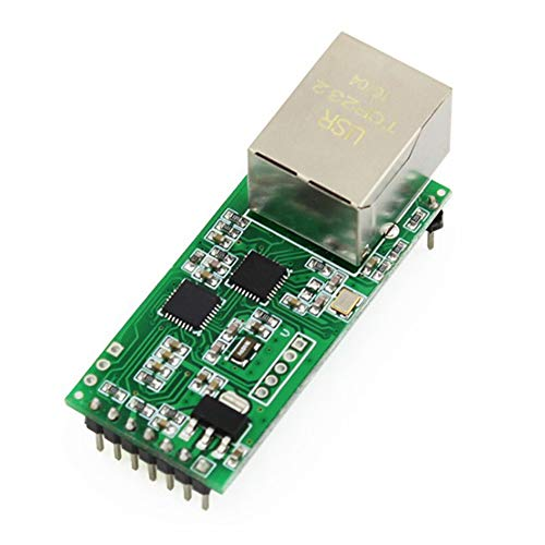 SNOWINSPRING Usr-Tcp232-T2 Tiny Serial Ethernet Converter Module Serial Uart Ttl To Ethernet Tcpip Module Soporte Dhcp y Dns