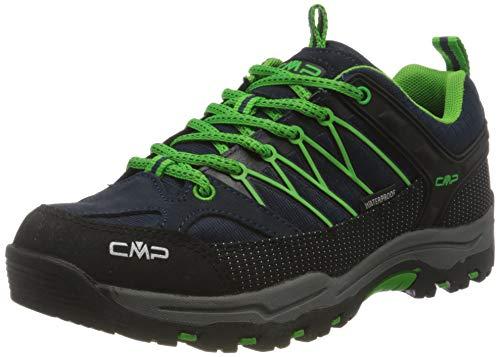 CMP – F.lli Campagnolo Unisex-Kinder Kids Rigel Low Shoe Wp Trekking- & Wanderstiefel, Blau (B.Blue-Gecko 51AK), 39 EU