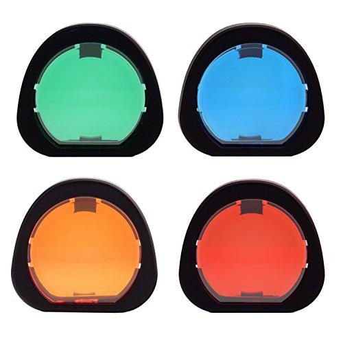Sunmns Close Up Color Lens Filter Set for Fujifilm Instax Mini 90 Neo Classic Instant Film Camera, 4 Piece